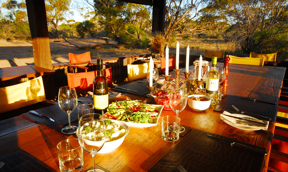 Gawler Ranges Safaris Kanguluna Campsite