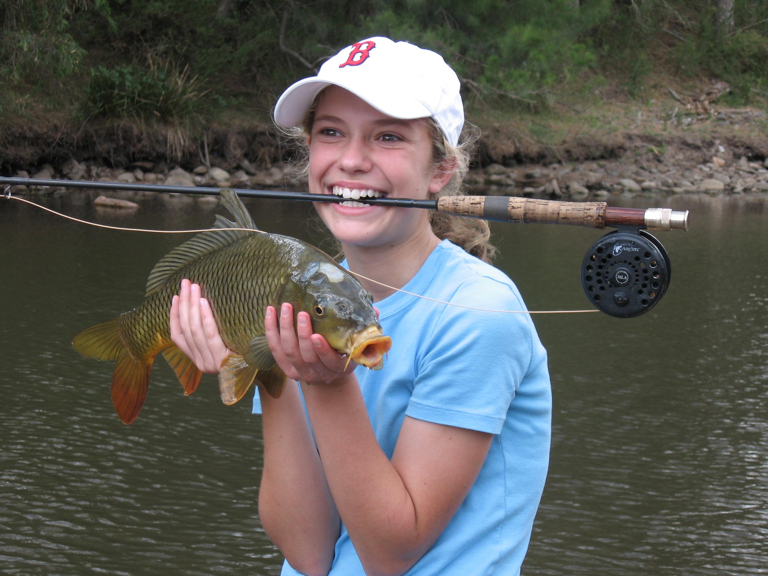 Susan Redelfs - fishing