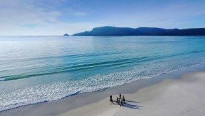 TAS - Pennicott Wilderness Journeys - Beach Walk