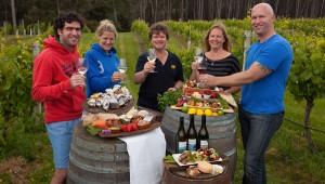TAS - Pennicott Wilderness Journeys - Winery Lunch